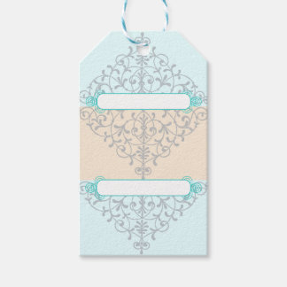 Blue Elegant Gift Tags