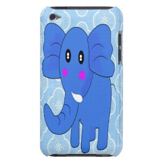 Blue Elephant Barely There iPod Cover