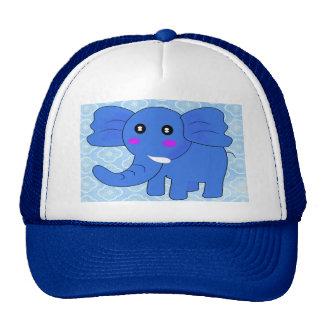Blue Elephant Cap
