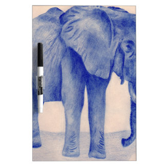 Blue Elephant Dry-Erase Whiteboards