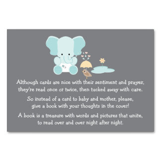 BLUE ELEPHANT LITTLE BIRD BOOK REQEUST CARD