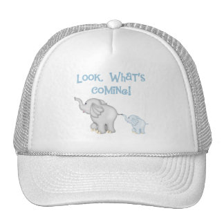 Blue Elephant Pregnancy Cap