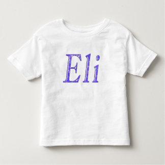 Blue Eli Name Logo, Toddler T-Shirt