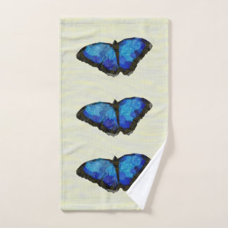 Blue Emperor Bath Towel Set