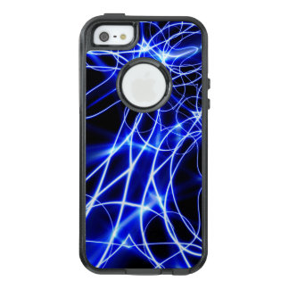 Blue Energy Lines, Fantasy Blue Flash OtterBox iPhone 5/5s/SE Case