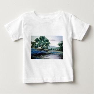 Blue English meadow flowers Tee Shirts