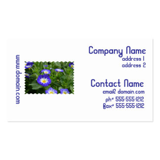 Blue Ensign Morning Glory Business Card Templates