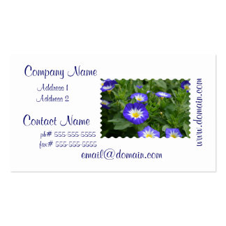 Blue Ensign Morning Glory Business Cards