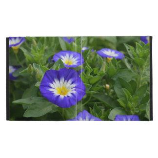 Blue Ensign Morning Glory Flowers iPad Folio Case