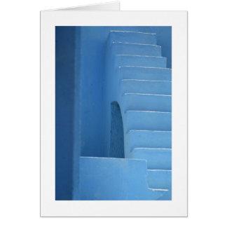 Blue Entryway Card