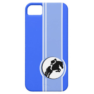 Blue Equestrian iPhone 5 Cover