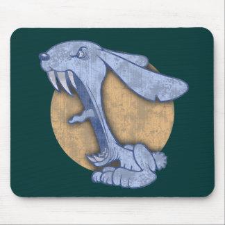 Blue Evil Bunny Mousepads