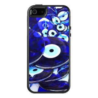 Blue Evil Eye amulets OtterBox iPhone 5/5s/SE Case