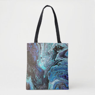 Blue Explosion Tote