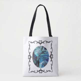Blue Explosion Tote Two