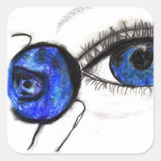 Blue Eye, Blueberry Sticker