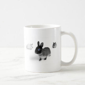 Blue Eye Bunnies Coffee Mug