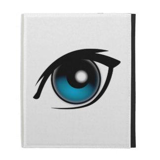 Blue Eye iPad Cases