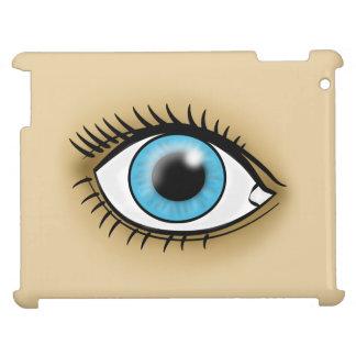 Blue Eye icon iPad Covers