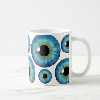 Blue Eye Iris Cool Eyeball Custom Mug