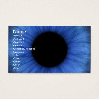 blue eye is cute business card
