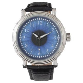 blue eye is cute wrist watches