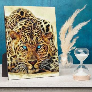 Blue Eye Leopard Display Plaques