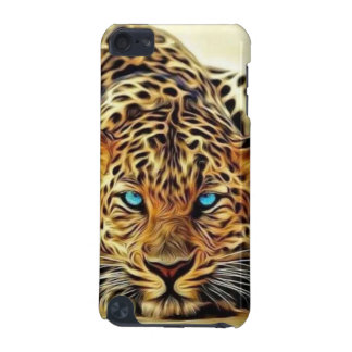 Blue Eye Leopard iPod Touch 5G Covers