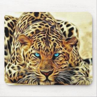 Blue Eye Leopard Mouse Pad