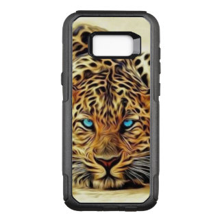 Blue Eye Leopard OtterBox Commuter Samsung Galaxy S8+ Case
