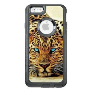 Blue Eye Leopard OtterBox iPhone 6/6s Case