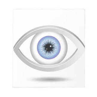 blue eye notepad