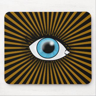 Blue Eye of Horus Mouse Pad