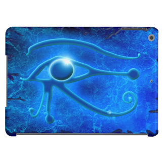 Blue Eye of Horus, Wadjet Egyptian Fantasy in Blue Case For iPad Air