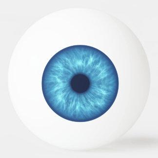 blue eye ping pong ball