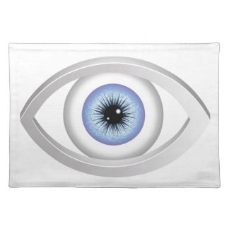 blue eye placemat