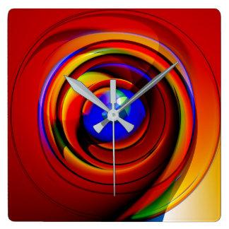 blue eye - wall clock