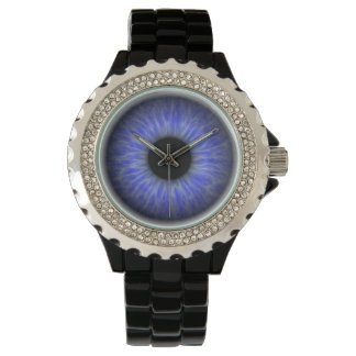 blue eye wrist watch