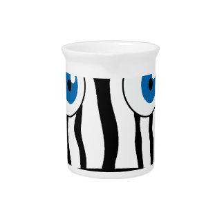 Blue eye zebra pitcher