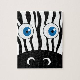 Blue eye zebra puzzles