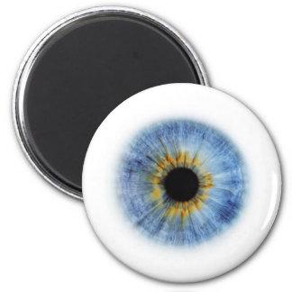 Blue Eyeball Refrigerator Magnet