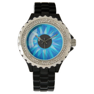 Blue Eyeball Watch