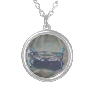 BLUE-EYED BLUE CRAB Necklace