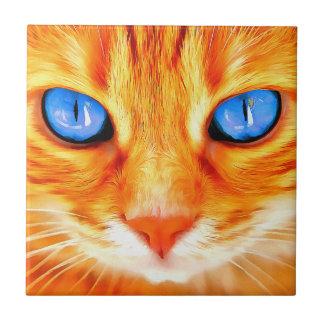 Blue-eyed Cat Tile