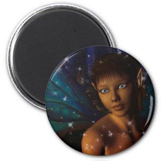 Blue Eyed Faerie Magnet
