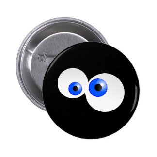 Blue Eyes Pinback Buttons