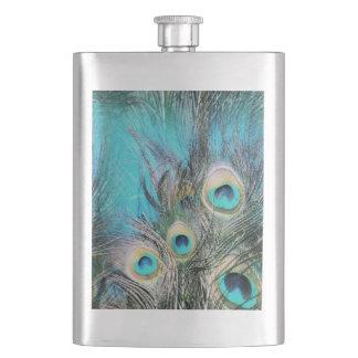 Blue Eyes Hip Flask
