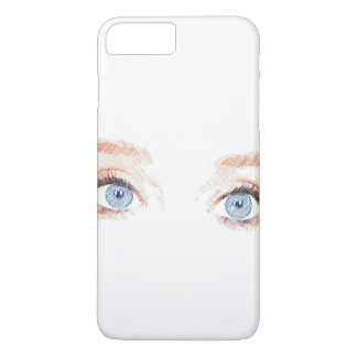 Blue Eyes iPhone 7 Plus Case