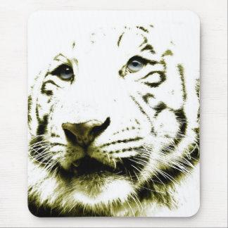 Blue Eyes, White Tiger Mousepad