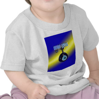 Blue Eyes With Background Tees